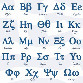 lettre y en grec Lettres et alphabets en maths lettre y en grec
